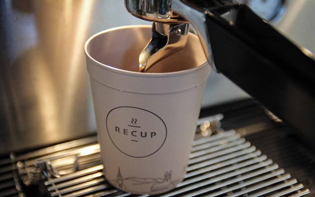 Recup Mehrweg Pfandsystem für Coffee-to-go Becher