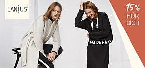 Grüne Mode mit 15 % jetzt bei Lanius im Onlineshop einkaufen
