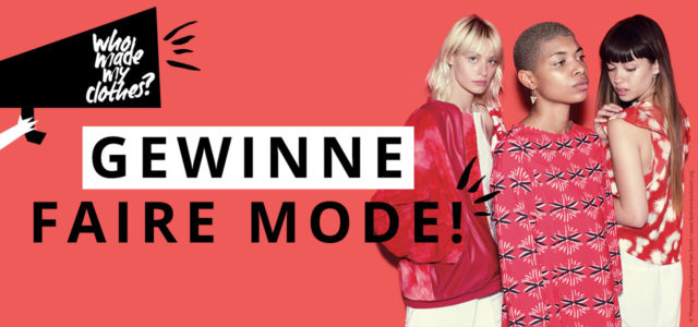 Gewinne preise zum Fashion Revolution Day