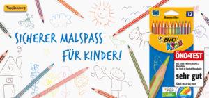 Jetzt wird's bunt: Malstifte vom Öko-Test-Sieger BIC® Kids gewinnen!