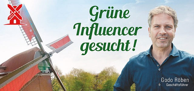 Rügenwalder Mühle sucht Gründenker!