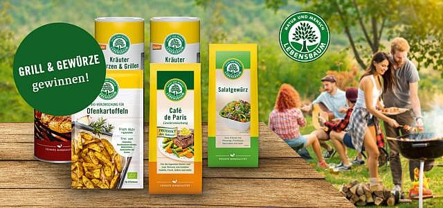 Gewinne mit Lebensbaum einen Lotus-Grill und Gewürz-Sets!