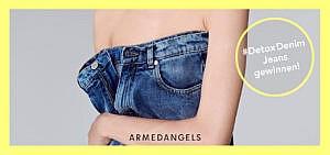 Gewinne mit ARMEDANGELS eine nachhaltige und vegane Jeans