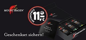 Sichere dir ein Geschenkset von Mount Hagen zum Aktionspreis Kaffee nachhaltig bio