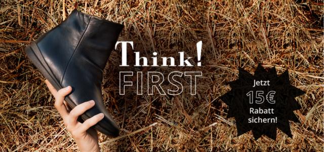 Think! Shoes Rabatt 15 € sparen
