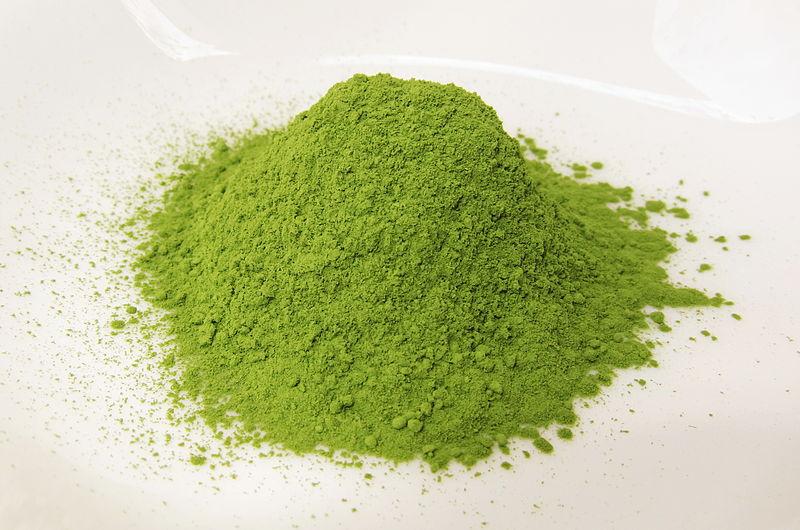 Matcha-Tee: gemahlener grüner Tee