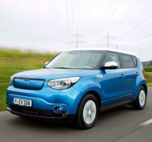 Ranking die besten Elektroautos Kia Soul EV