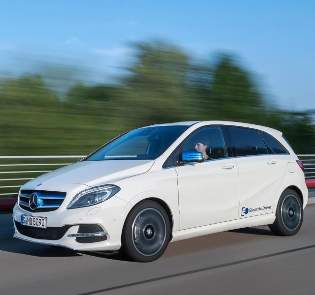 Ranking die besten Elektroautos Daimler Mercedes B250e