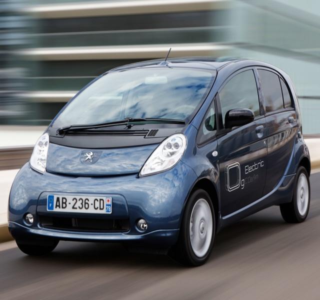 Ranking die besten Elektroautos Peugeot iOn