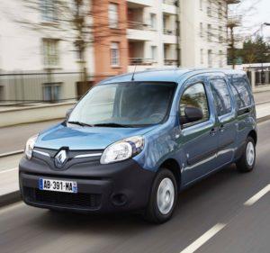 Ranking die besten Elektroautos: Renault Kangoo Elektroauto