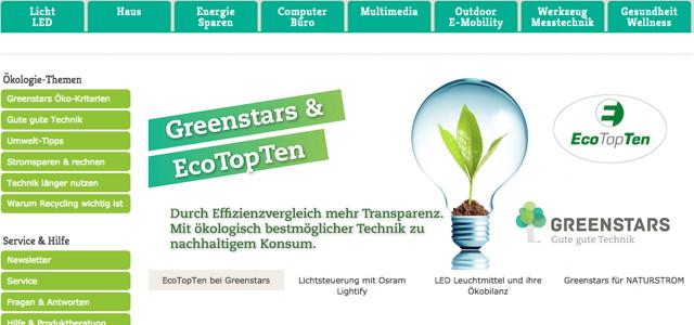 Online Shop Greenstars
