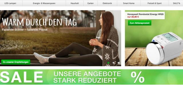 Online Shop Grünspar