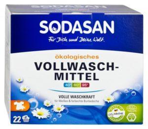 Ökologisches Vollwaschmittel von Sodasan