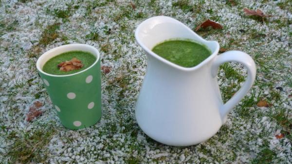Winter-Smoothies: Feldsalat