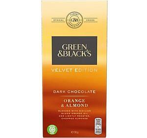 Bestenliste Bio-Fairtrade-Schokolade Green & Blacks
