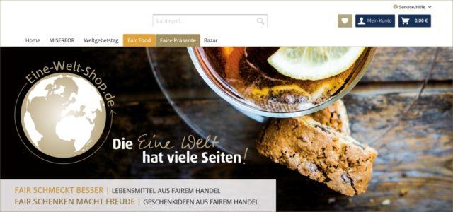Online Shop Eine-Welt-Shop