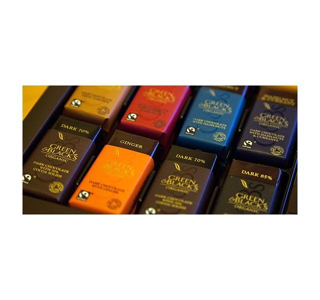 Bestenliste Fair Trade Schokoladen Green & blacks