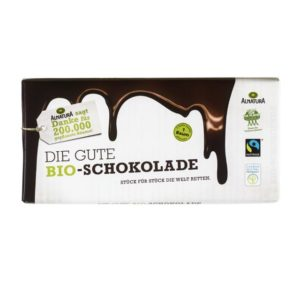 Bestenliste Fair Trade Schokoladen Alnatura die gute Bio-Schokolade