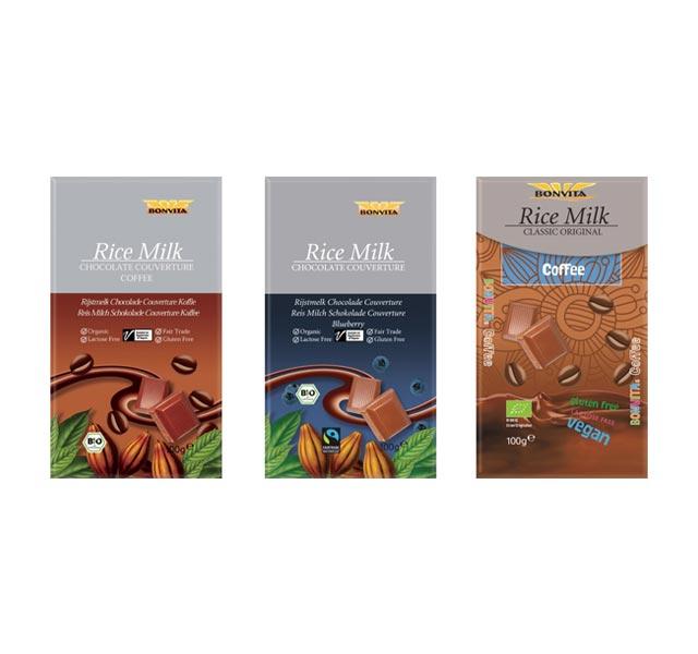 Bestenliste Fair Trade Schokoladen Bonvita Reismilchschokolade