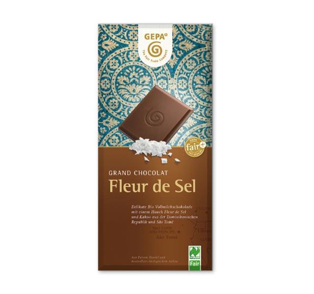 Bestenliste Fair Trade Schokoladen GEPA