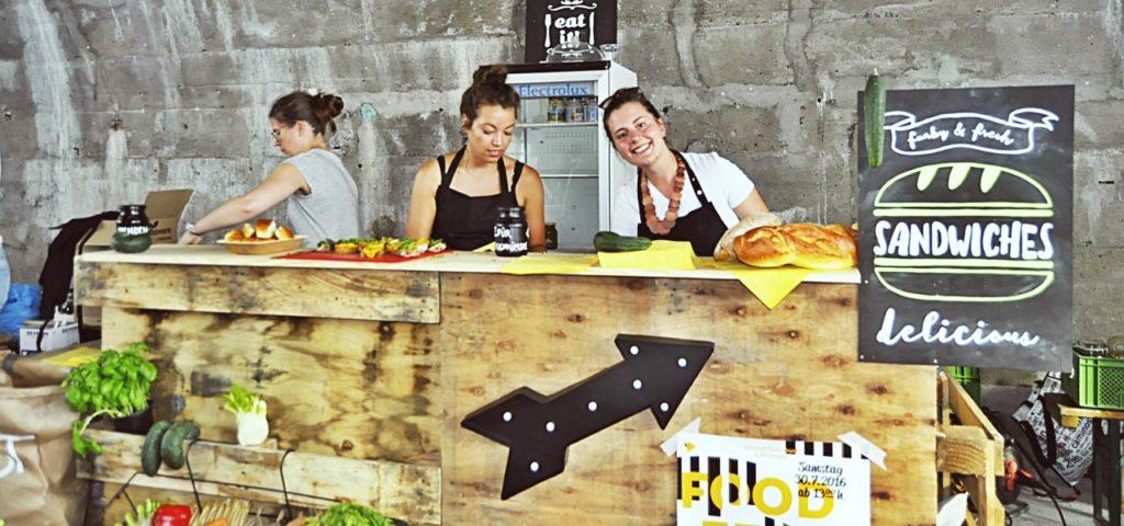Der Foodtruck soll Veranstaltungen wie das Food Festival mobil machen