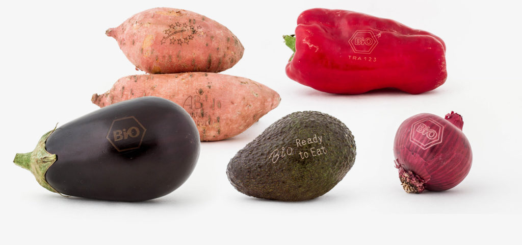 Nature & More will Licht-Labeling statt Verpackungen mit Aufkleber für Bio-Gemüse und Bio-Obst