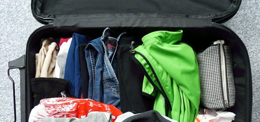 Packliste: Koffer packen