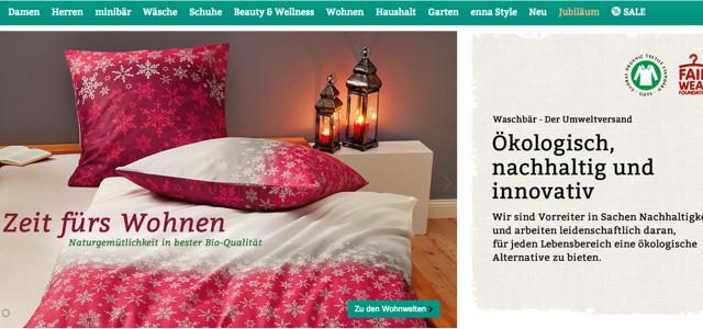 Online Shop Waschbär