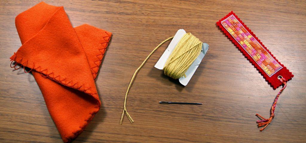 Lesezeichen selber machen last minute geschenk aus stoff for Fotogeschenke selber machen