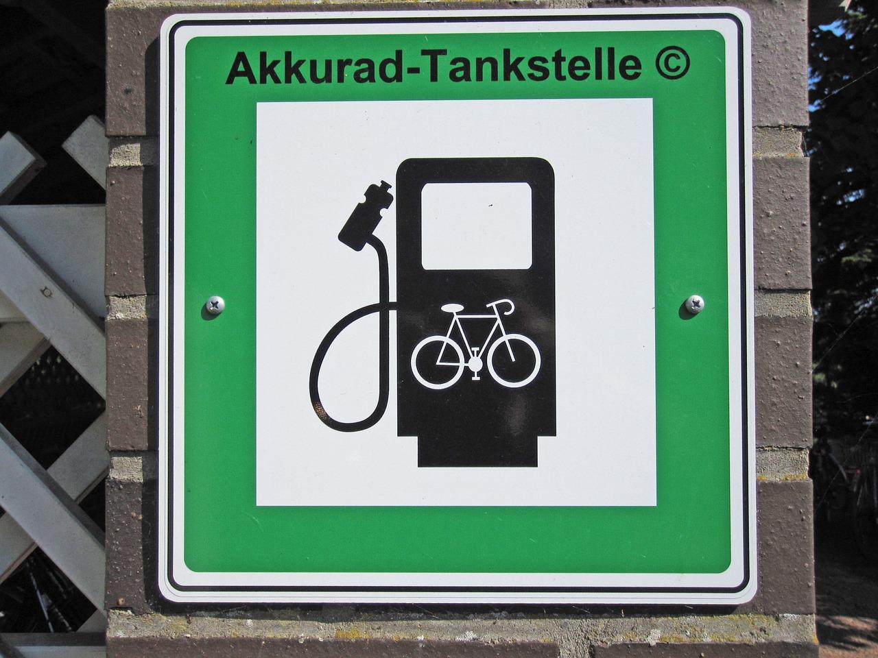 E-Bike aufladen