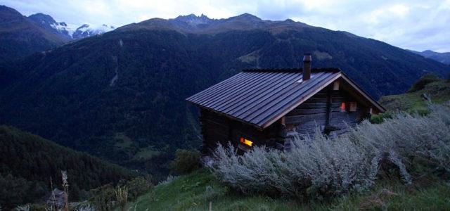 Berghütte mieten: Grange Saralex im Wallis