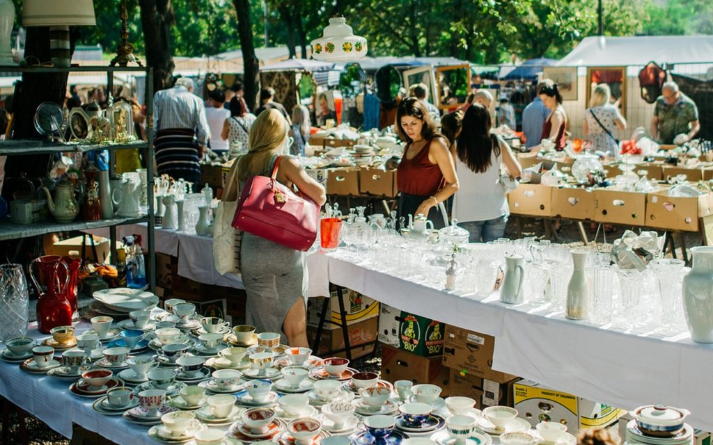 Berlin nachhaltig Flohmarkt Mauerpark