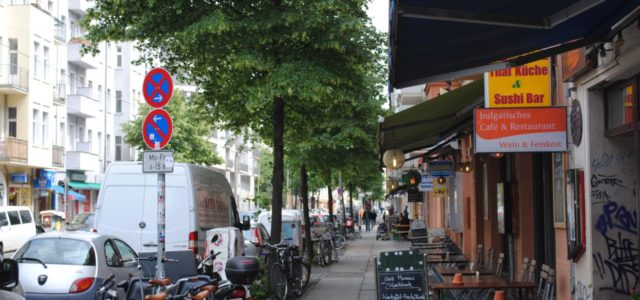 Berlin nachhaltig Simon Dach Straße