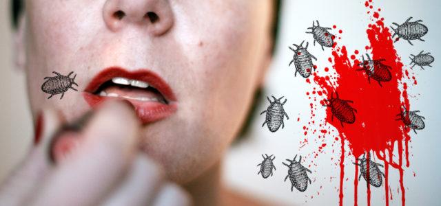 Dschungelprüfung: Zerquetschte Läuse machen Lippenstift richtig schön rot