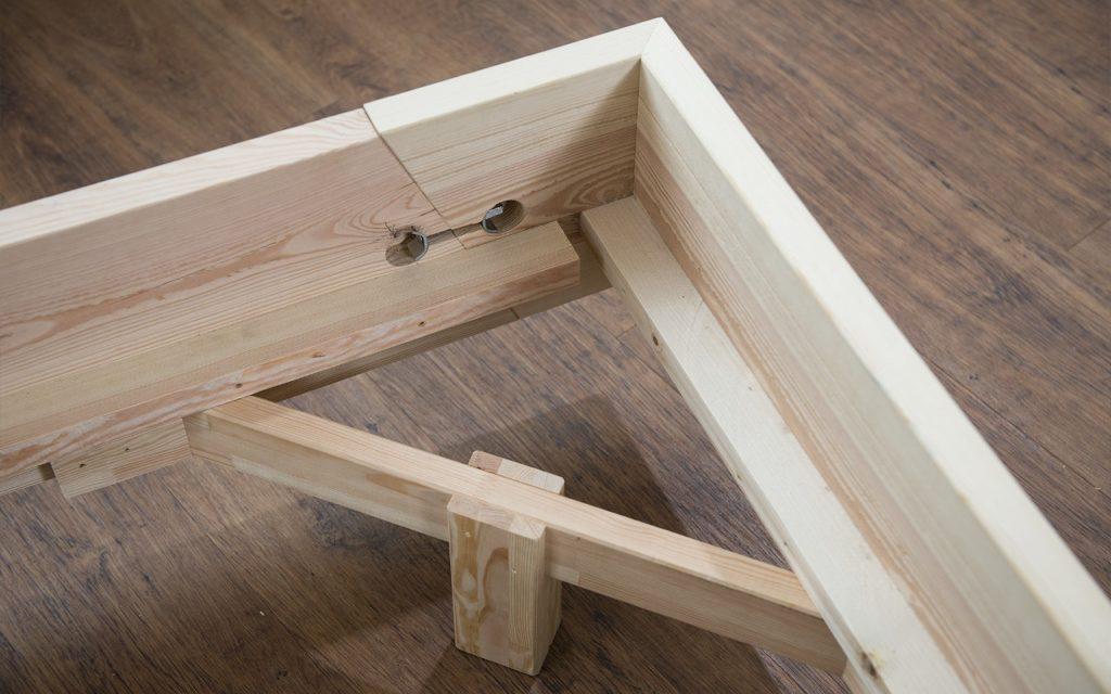 Nachhaltiges Bett von Kiezbett, Rahmen