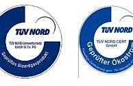 Ökostrom Siegel und Bio-Erdgas-Siegel TÜV Nord