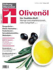 test Februar 2017: Olivenöl-Test entlarvt Schwindel bei Güteklasse