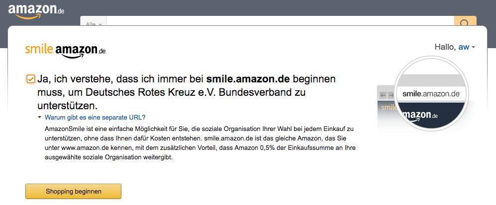 Amazon Smile Kritik