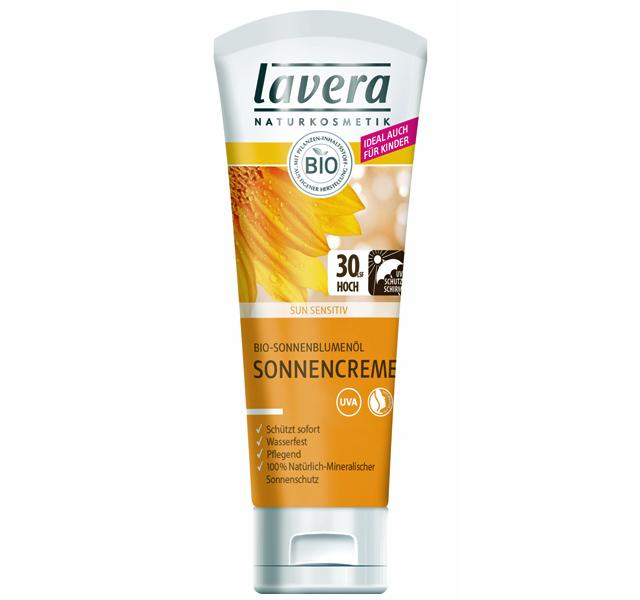Lavera: mineralische Sonnencreme