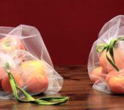 Obst- und Gemüsebeutel selber nähen: Beutel mit Obst