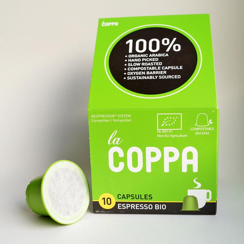 kompostierbare Kaffeekapseln: La Coppa