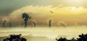 Luftverschmutzung Industrie Landschaft