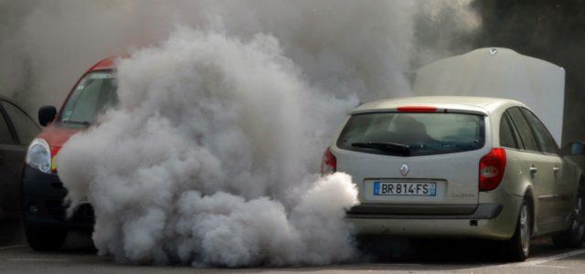 Luftverschmutzung Verkehr Auto