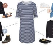 Minimalistischer Kleiderschrank Outfit