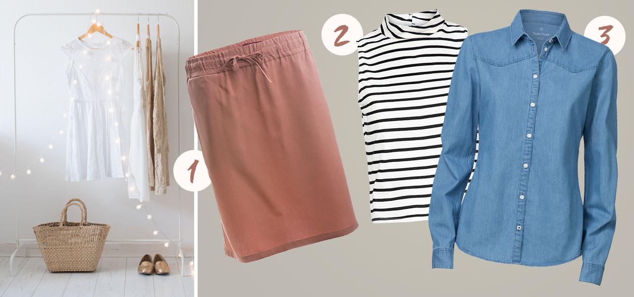Der minimalistischer kleiderschrank so gelingt er dir for Minimalismus im kleiderschrank
