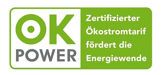 ok-power Siegel Ökostrom Teaser