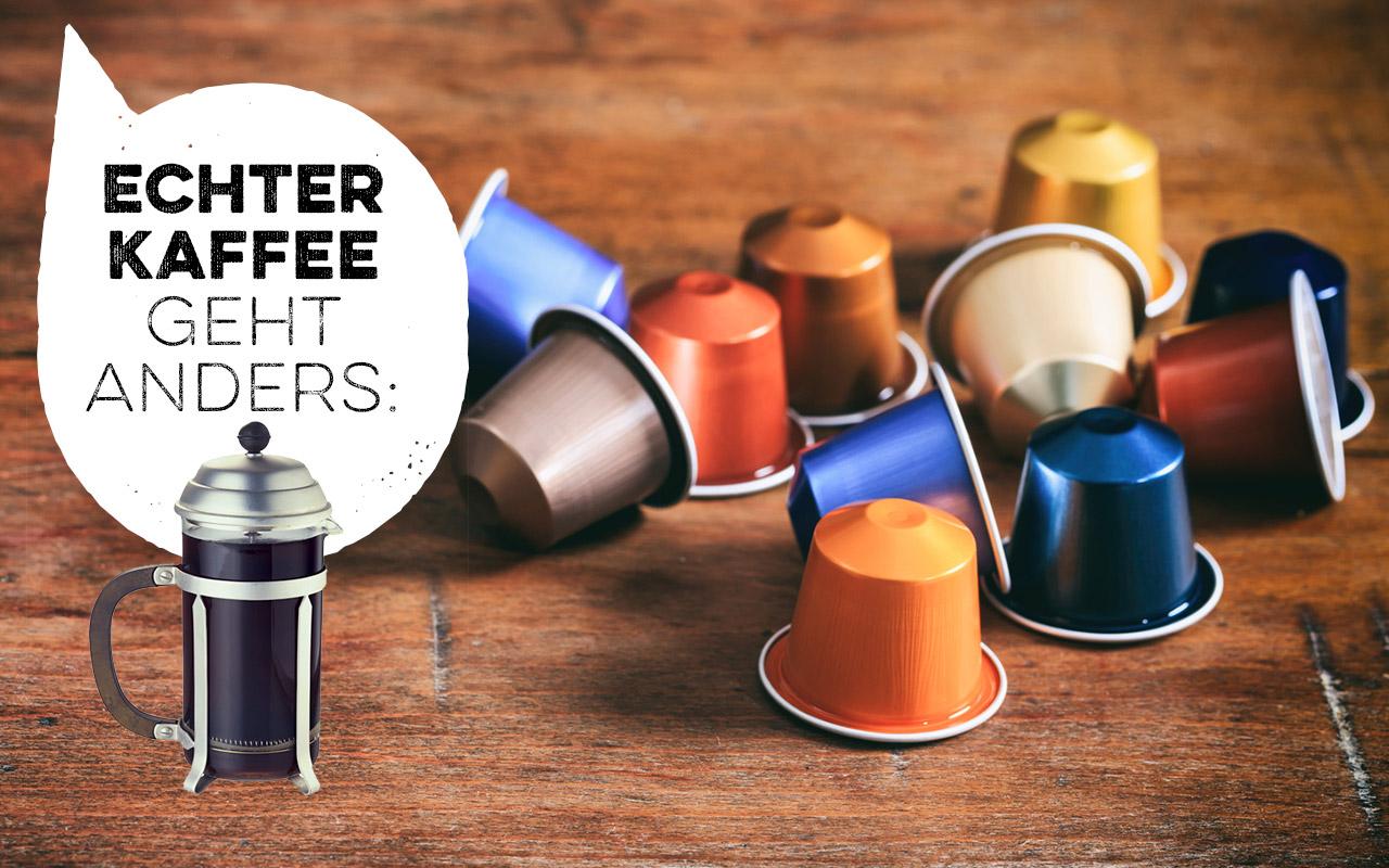 Aus deiner Küche verbannen: Kapselkaffee