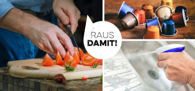 Diese Dinge solltest du aus deiner Küche verbannen