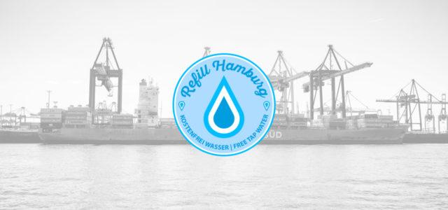 Refill Hamburg: Karte zeigt, wo man kostenlos Leitungswasser abfüllen kann