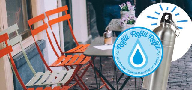 Refill Deutschland, Leitungswasser kostenlos auffüllen